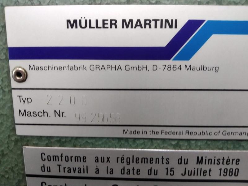 Müller Martini Pronto 2200