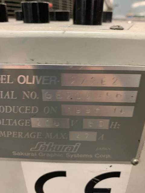 Sakurai Oliver 272 E II
