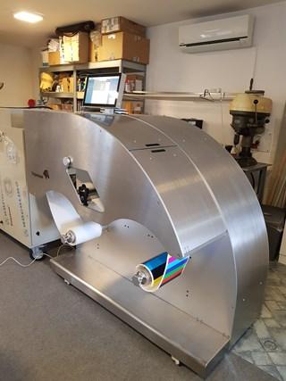 Trojanlabel T2 Inkjet (Memjet) digital label press (demo machine) Ink Jet Printers