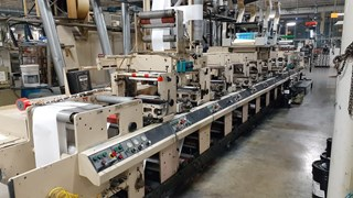 Mark Andy 4150 Combo 16 Flexo