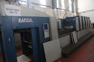 KBA Rapida 74 Sheet Fed