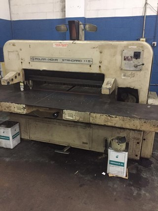 1985  Polar 115 Guillotines/Cutters