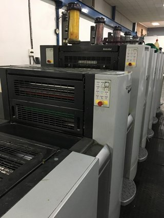 Heidelberg Speedmaster SM 52 5 Anicolor Sheet Fed