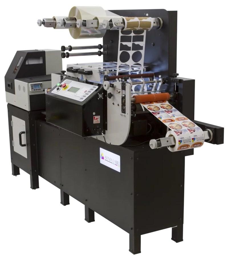 2017 Afinia DLP 2000 - Digital Printer, Laminator, Die Cut, Weed, Split, Roll.