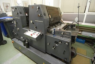 Heidelberg GTO Z 52+ Sheet Fed