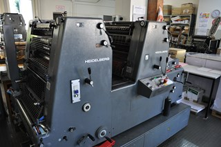 Heidelberg GTO ZP 52 Sheet Fed
