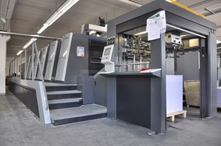 Heidelberg XL 106-5 LX Inpress Sheet Fed