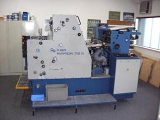 KBA Rapida 72 K Machines offset à feuilles