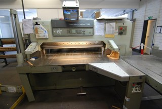 Polar 155 EM Monitor Guillotines/Cutters