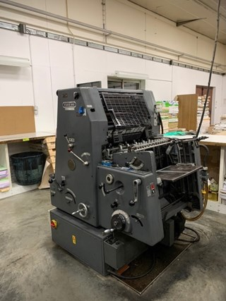 Heidelberg GTO 46 NP Sheet Fed