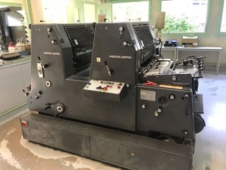 Heidelberg GTOZP 52+ Sheet Fed