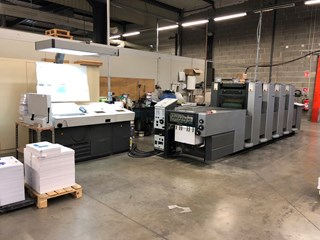 Heidelberg SM 52-4-H Sheet Fed