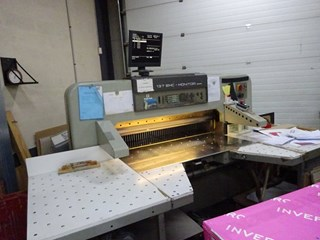 Polar 137 EMC Monitor Guillotines/Cutters