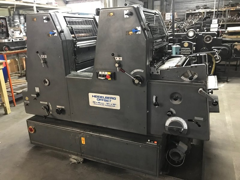 Show details for Heidelberg GTOZP 46 NP