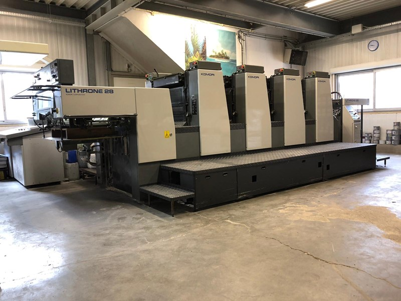 Show details for Komori Lithrone L-428 ES