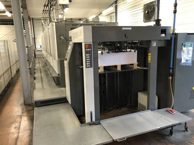 Show details for Komori Lithrone GL-840P (H model)