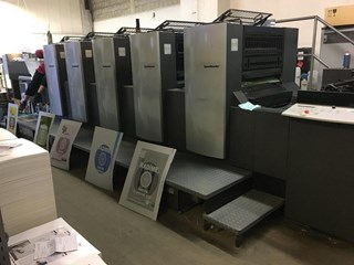 Heidelberg SM 74   5   H Sheet Fed