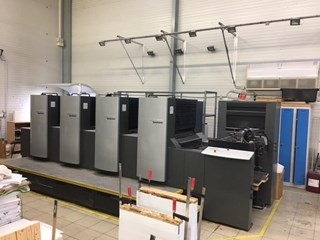 Heidelberg SM 74   4 Sheet Fed