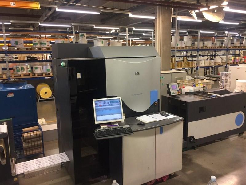 Hewlett Packard HP INDIGO PRESS WS 4500