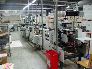 Bobst Media 68 Folder Gluer PLIEUSES COLLEUSES