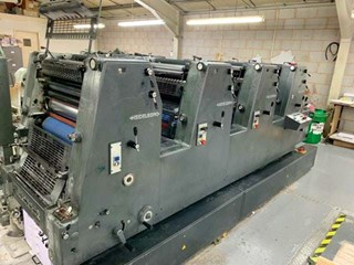 Heidelberg GTO 52-4 Sheet Fed