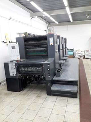 Heidelberg Printmaster PM 74-4 Machines offset à feuilles