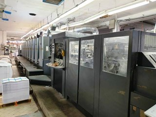 Heidelberg Speedmaster 102-8P+L Machines offset à feuilles