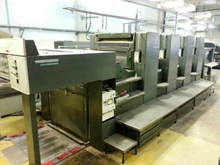 Heidelberg Speedmaster 102-4-3P Sheet Fed
