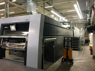Heidelberg XL-145-4+LX Offset de pliegos