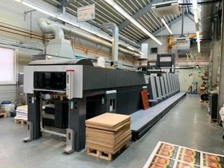 Heidelberg XL 75-6+LYYLX-F format + Foil Machines offset à feuilles