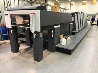 Heidelberg XL-75-6+LX2-C Format 单张纸胶印机