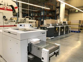 Heidelberg ST100 saddlestitcher Collators