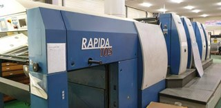 KBA Rapida 105-4+SW-2-P40 Sheet Fed