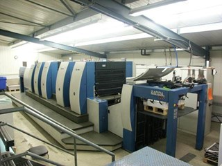 KBA Rapida 105-4+SW-P40 + Perforating  Unit Sheet Fed