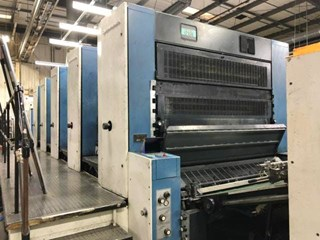 KBA Rapida 162a-5 Sheet Fed