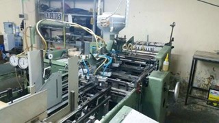Kolbus DA36 casemaker Case production