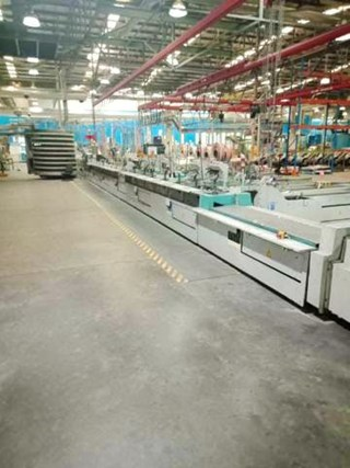 Kolbus KM 410 Publica perfect binding line Perfect Binders