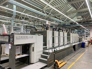 Komori GL-840-P Sheet Fed