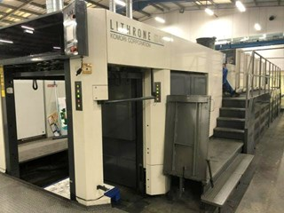 Komori LSX-640+Coater Hybrid Press Sheet Fed