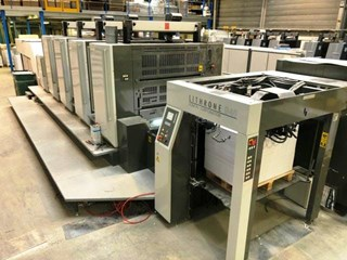 Komori GL-440+Coater Sheet Fed