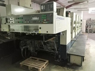 Komori Lithrone L440 Sheet Fed