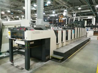 Komori LSX-629+CX-U/V+Inline Foiling-Diecutting/embossing Sheet Fed