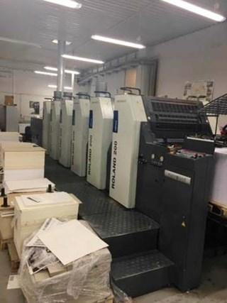 Roland R 205+L Sheet Fed