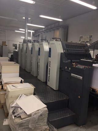Manroland R205+L Sheet Fed