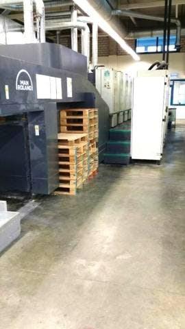 Roland 506+LTTLV-OB Larger 590 x 740 Format Machines offset à feuilles