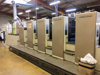 Mitsubishi Diamond 3000S-4+Coater Sheet Fed