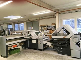 Heidelberg Stahl KH78/4KTL Folding machines