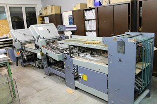 Stahl T52-44K all buckle Folding machines