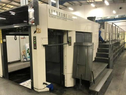 Show details for Komori LSX-640+Coater Hybrid Press