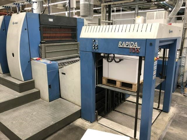 KBA Rapida 106-5+L-ALV-CX